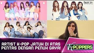 K-Poppers I Artist K-Pop Jatuh Di Atas Pentas Dengan Penuh Gaya!