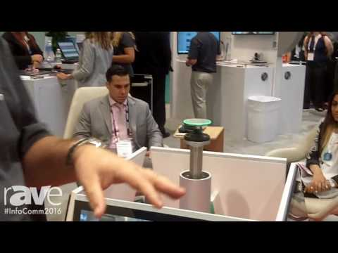 InfoComm 2016: Polycom Demonstrates RealPresence Centro Collaboration Solution