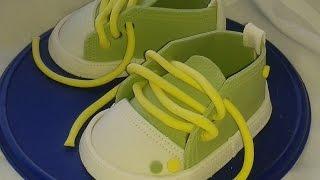 Как сделать детские кроссовки из мастики