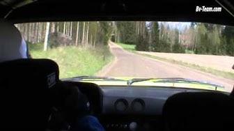 Ilkka Rantala & Janne Salonen In car Kaloppi Ralli 2015