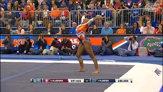 Florida Gymnastics: Kennedy Baker Perfect 10 1-29-16