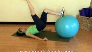 The Best Butt Workout with a Stability Ball