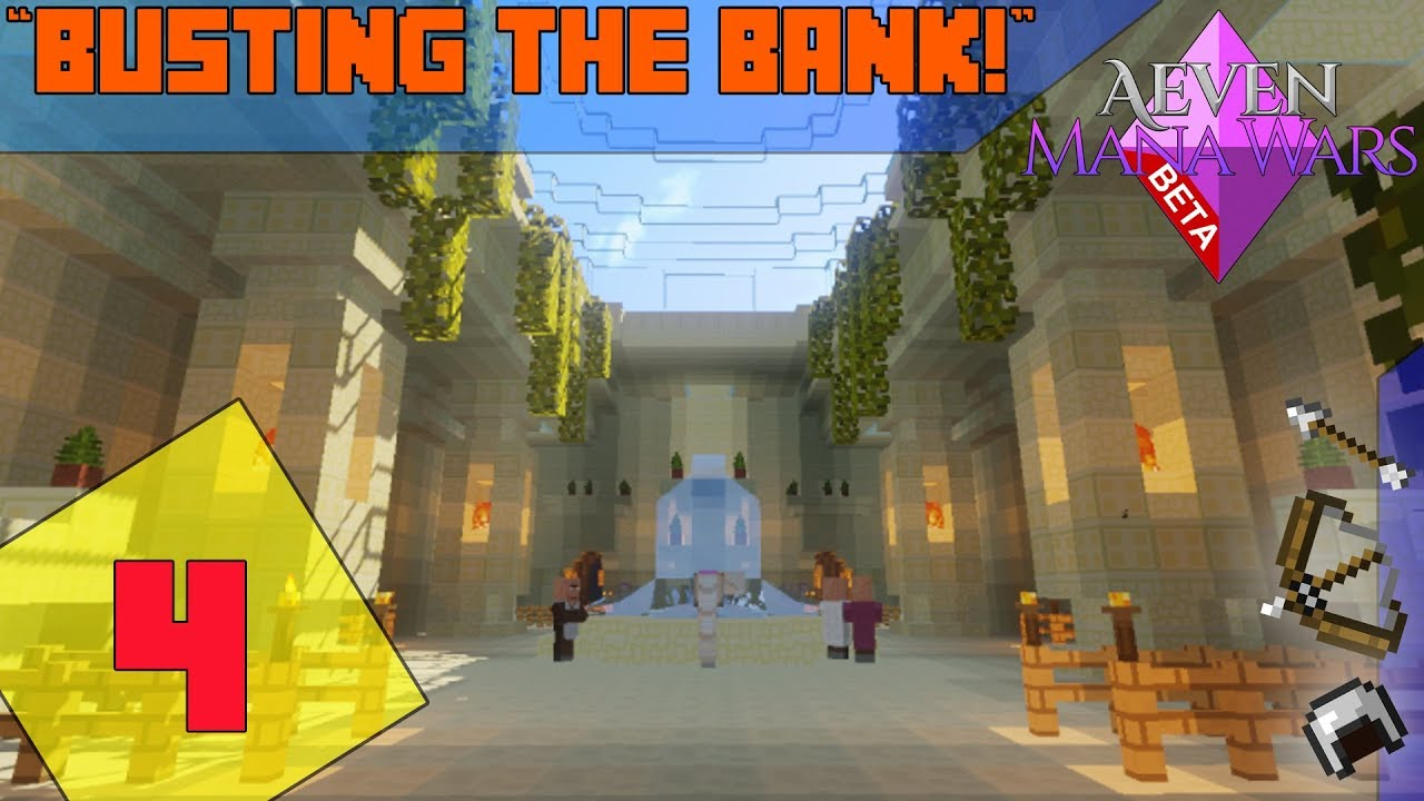 Minecraft MMORPG Server - Aeven Mana Wars |