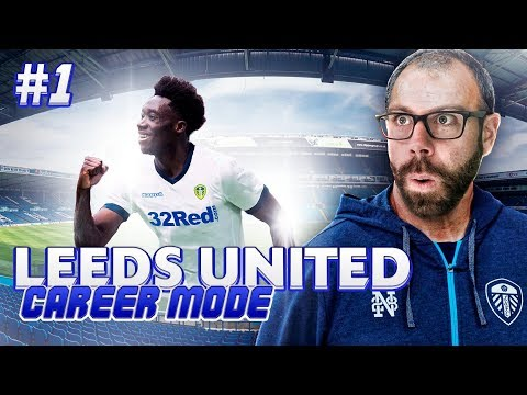THE START!!! WE STEAL ALPHONSO DAVIES! Leeds United Career Mode #1 - FIFA 18