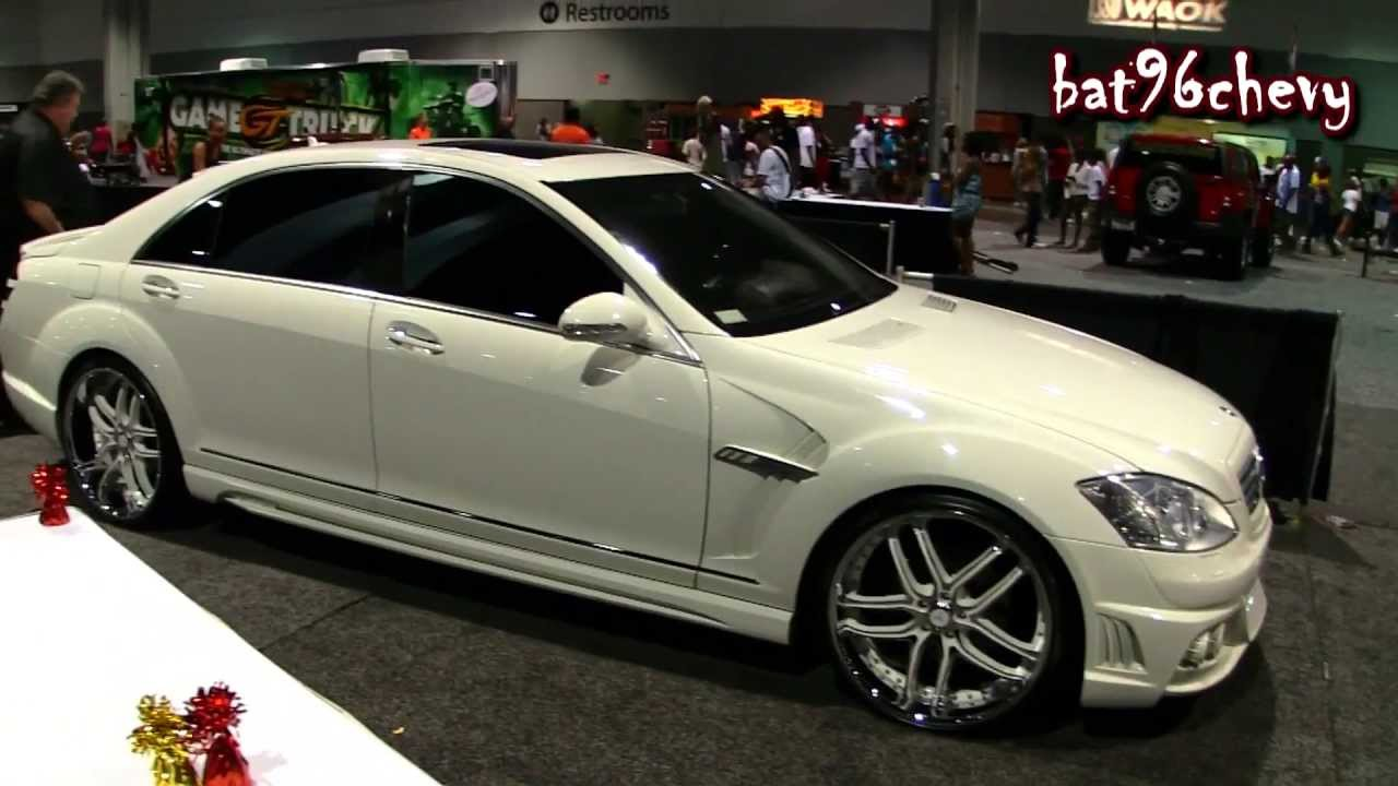 2012 Mercedes Benz S550 W Body Kit On 22 Asanti Staggered