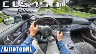 2018 Mercedes Benz CLS 450 4Matic EDITION 1 | POV Test Drive by AutoTopNL