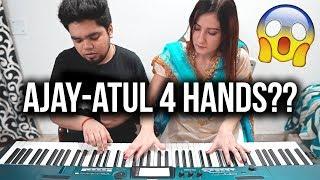 APSARA AALI - NATARANG | EPIC PIANO DUET