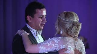 Танец на свадьбе. Разноплановая съемка