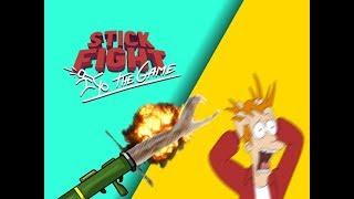 Snake Launcher Mayhem! - Our Hilarious Moments (Stick fight the game)