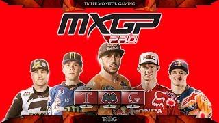 MXGP PRO | Triple monitor gameplay 5760x1080