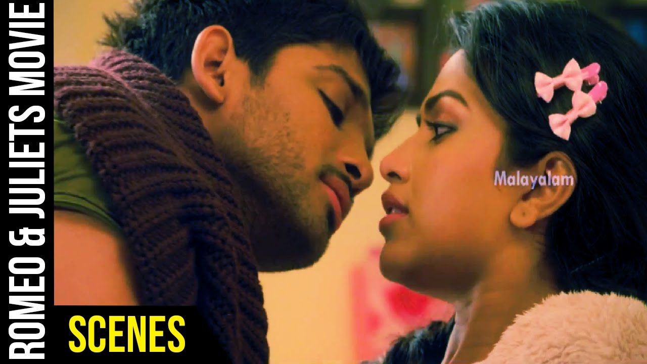 Download Romeo & Juliets Malayalam Movie Scenes   Allu Arjun and Amala Paul Love Scene   Iddarammayilatho