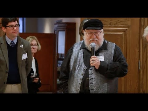 Chancellor Sharp Invites G.O.T. Fans to Visit Unique George R.R. Martin Collection at Texas A&M