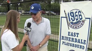 CNE baseball memories with Dr. Bruce Kidd