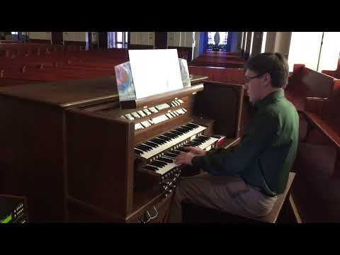 Jerusalem by Willam Blake on Allen Organ