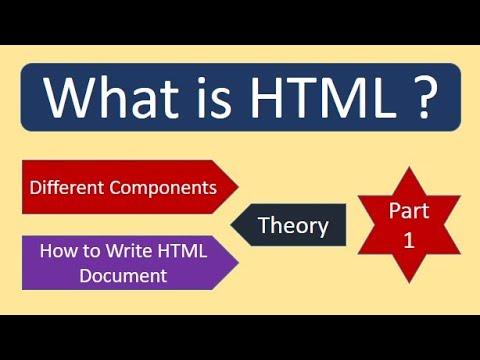 HTML Basics Part 1