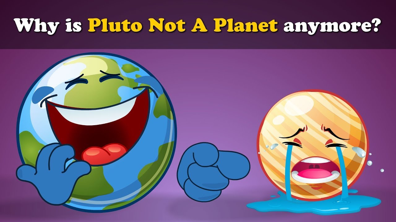 Why is Pluto not a Planet anymore? | #aumsum #kids #science #education #children