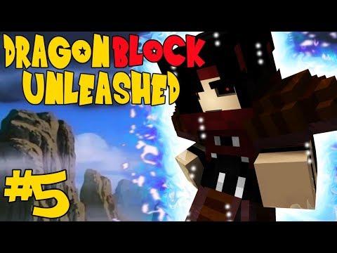NEXT LEVEL TRAINING!    Dragon Block Unleashed Episode 5 (Minecraft DBC Modpack)