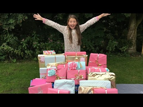 isabelle's-11th-birthday-morning-present-opening!!