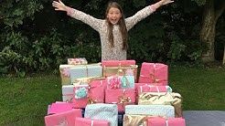 ISABELLE'S 11th BIRTHDAY MORNING PRESENT OPENING!!