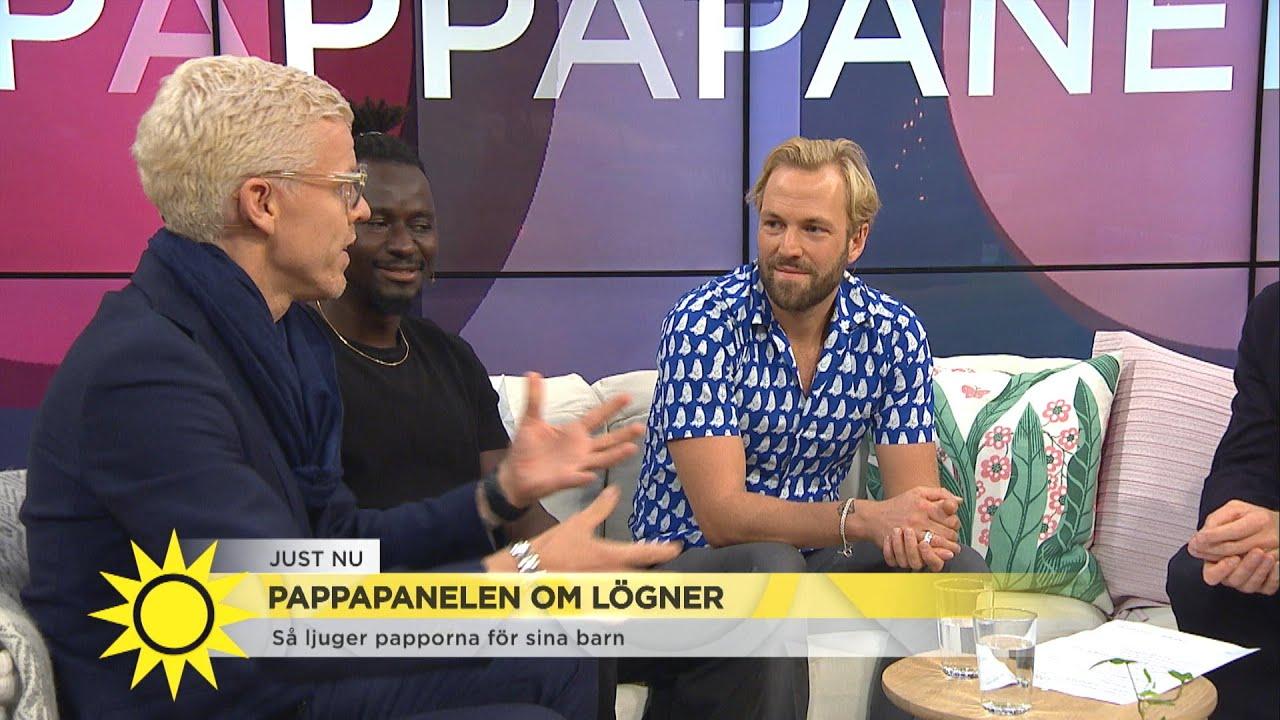 """Så ljuger papporna för sina barn: """"Man måste ljuga för att klara dagen"""" - Nyhetsmorgon (TV4)"""