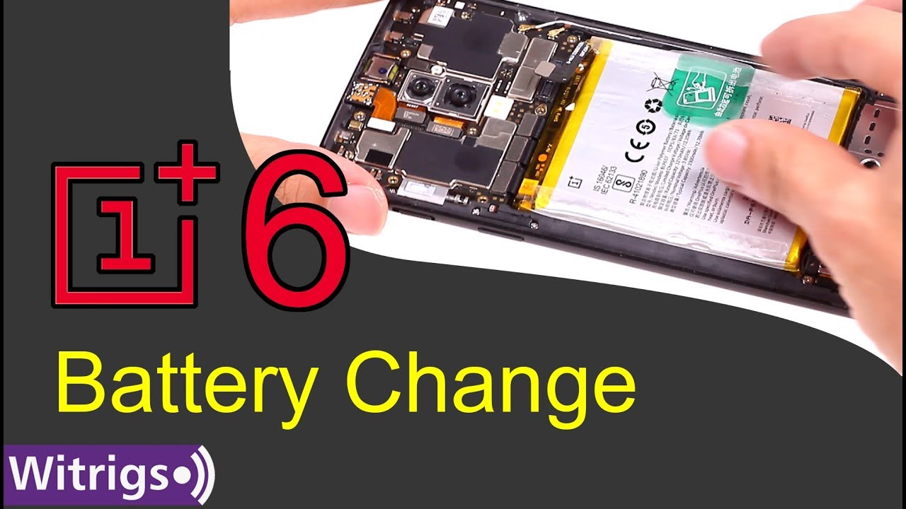 best service 586a2 b182a OnePlus 6 Battery Replacement - Repair Guide