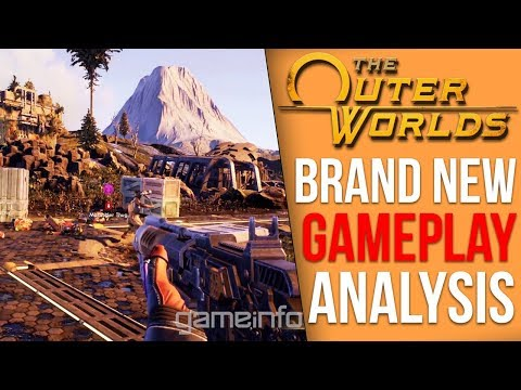 The Outer Worlds NEW GAMEPLAY - Analysis and Details