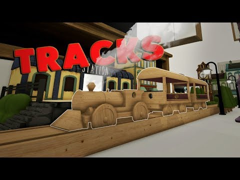 WOODEN TRAIN SIMULATOR! - Tracks - The Train Set Game - First Impression