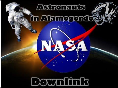 Astronauts in Alamogordo NASA Downlink Event