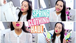 Spring Clothing Haul | velvetgh0st ♡