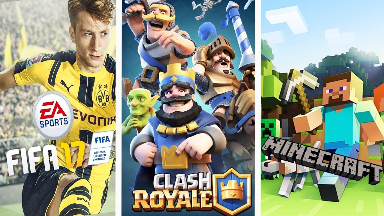 Los 8 Juegos Mas Populares Youtube