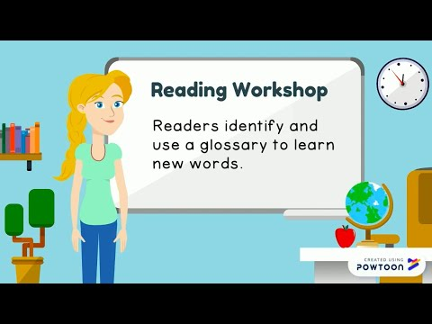 Reading Workshop: Nonfiction Lesson 13: Glossary