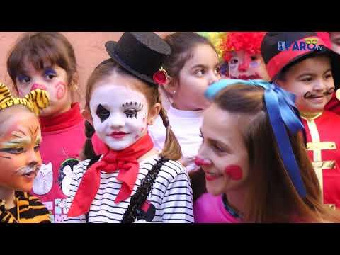 El 'Ciudad de Ceuta' celebra un Carnaval de circo