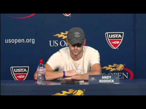 2010 US Open Press Conferences: Andy Roddick (Second Round)