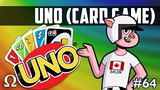 A WILD WILDCAT APPEARS!   Uno Card Game #64 Funny Moments With Friends!
