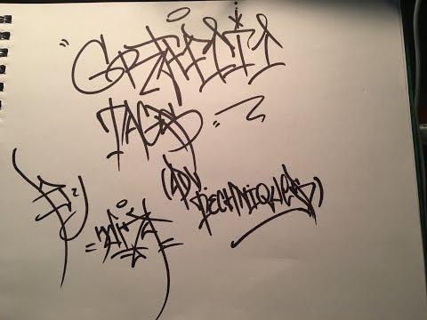 Graffiti Tags -new Techniques
