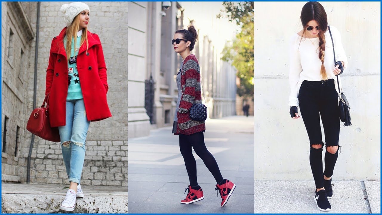 How to Wear Cute Outfits With Sneakers
