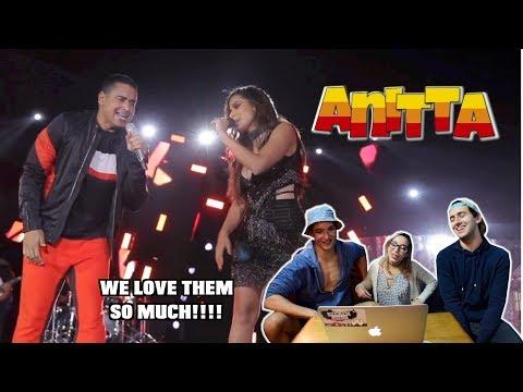 Harmonia do Samba feat. Anitta - Tic Nervoso (REACTION)