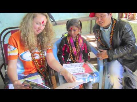 Meeting Kamala, my World Vision Sponsor Child, in Nepal