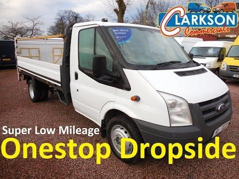 FOR SALE - www.clarkson-commercials.co.uk - 2009 Ford Transit T350L Dropside Tail Lift MJ59 DXH