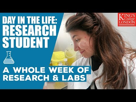 Week in the Life of a Cancer Research Student! | King's College London | Atousa Vlogs