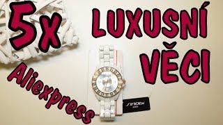 5 TOP luxusních věci z ALIEXPRESS HAUL│česky│Unboxing - rozbalovačka - TEST - návod -TRIKY - CZ