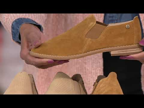 Hush Puppies Slip-On Suede Loafers