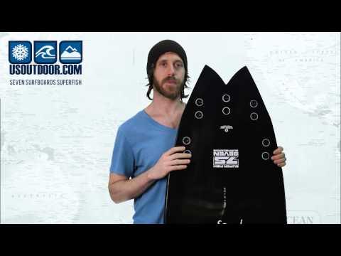Seven Surfboards Superfish