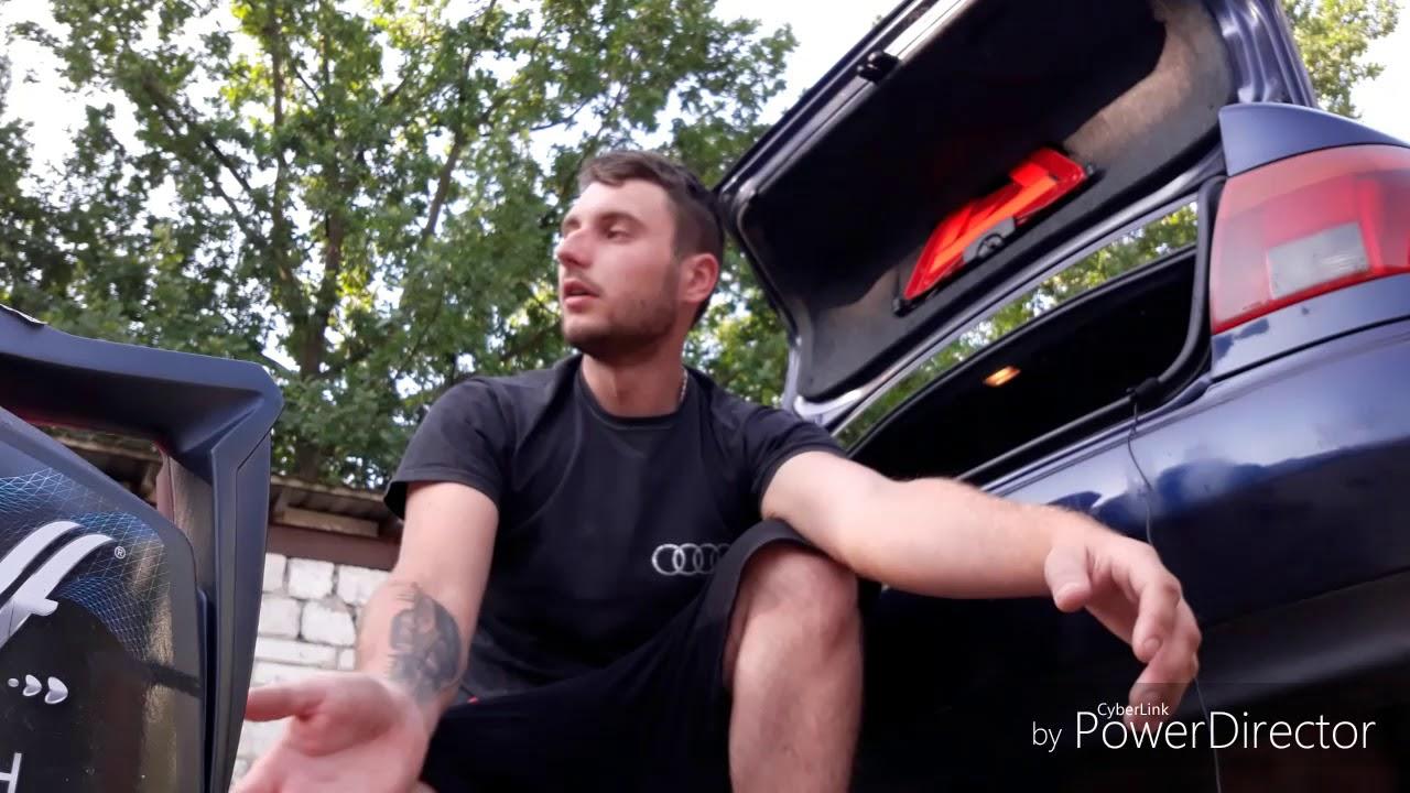 Первый ремонт Audi A4 B5 Quattro . Замена радиатора и масла