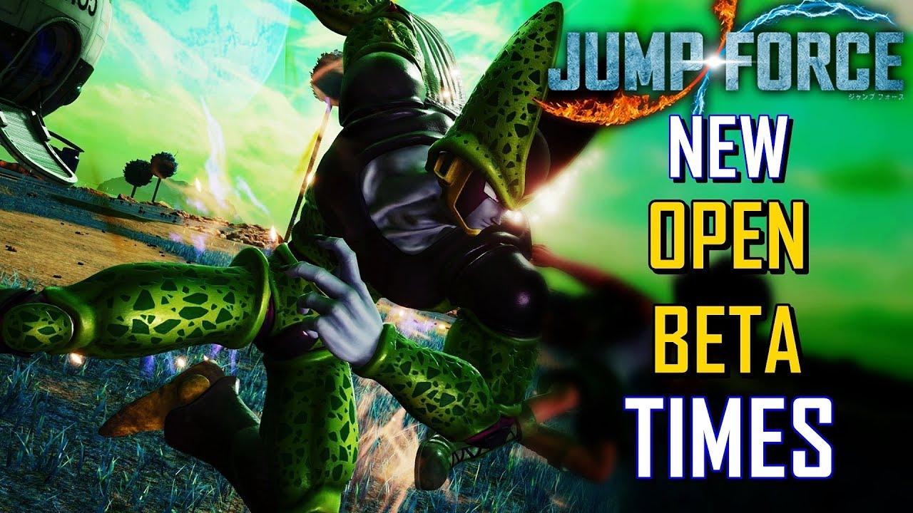 jump force beta test version 1.03
