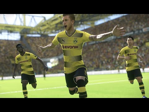 15 Minutes of PES 2018 Gameplay 4K 60fps
