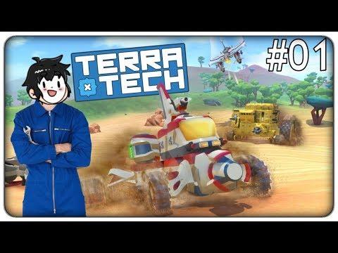 COSTRUIAMO FANTASTICI VEICOLI E SCONFIGGIAMO I ROBOT NEMICI | TerraTech - ep. 01