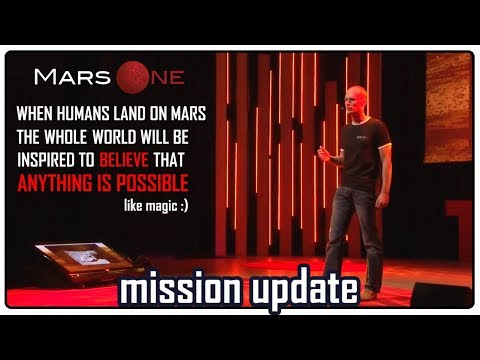 Mars One 2018 mission update