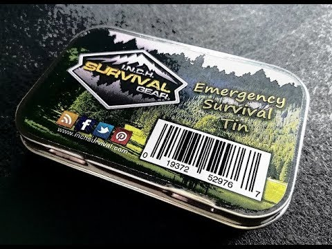 INCH Survival Gear Survival Tin Review