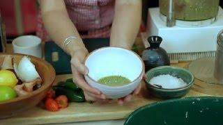 How To Make Jalapeno Salsa With Cilantro : Salsa & Dip Recipes